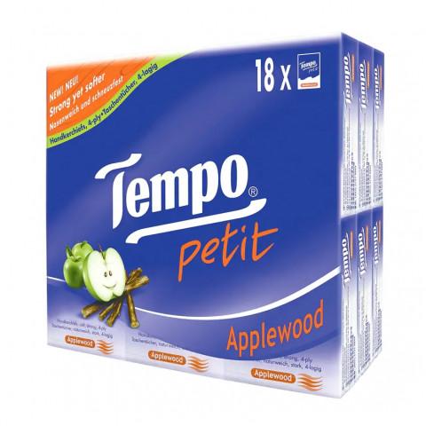 Tempo 得寶 迷你紙手巾 蘋果木香味 18包