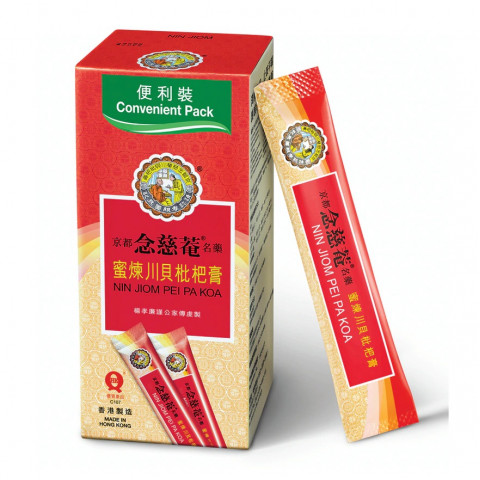Nin Jiom Pei Pa Koa Convenient Pack 15ML x 4 pouches