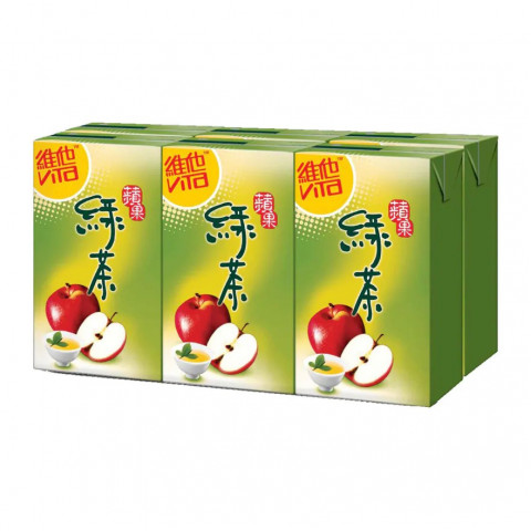 Vita Apple Green Tea 250ml x 6 packs