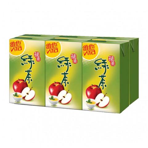 維他 蘋果綠茶 250毫升 x 6包