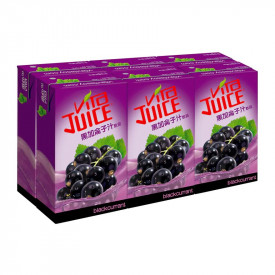 Vita Blackcurrant Juice 250ml x 6 packs