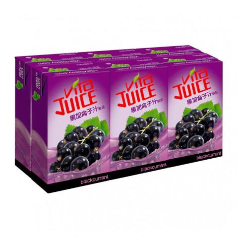 Vita Blackcurrant Juice 250ml x 6 packs