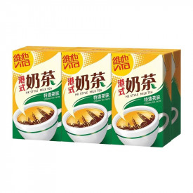 Vita HK Style Milk Tea Stronger Tea Taste 250ml x 6 packs