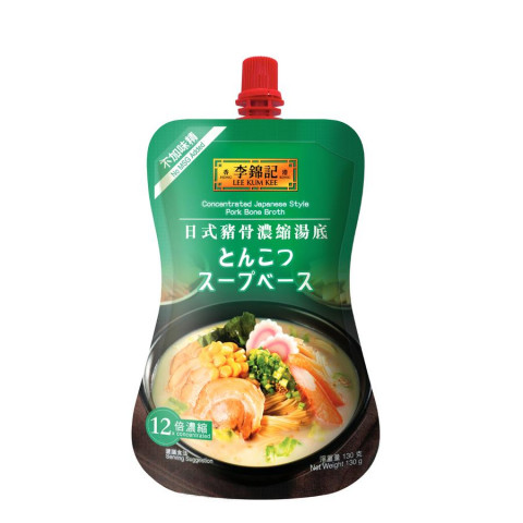 Lee Kum Kee Concentrated Japanese Style Pork Bone Broth 130g