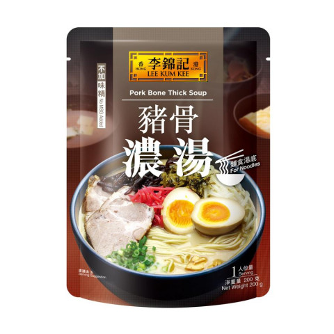 李錦記 豬骨濃湯 200克