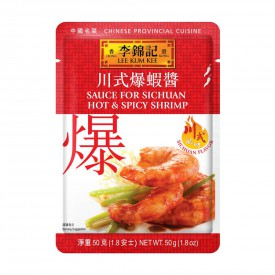 Lee Kum Kee Sauce For Sichuan Hot & Spicy Shrimp 50g