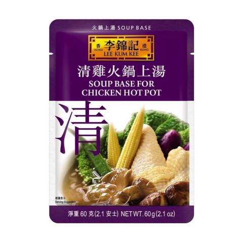 李錦記 火鍋スープの素 鶏スープ 60g