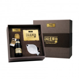 "Lee Kum Kee Grand Deluxe Soy Sauce with ""Sip of Joy"" Gift Pack"