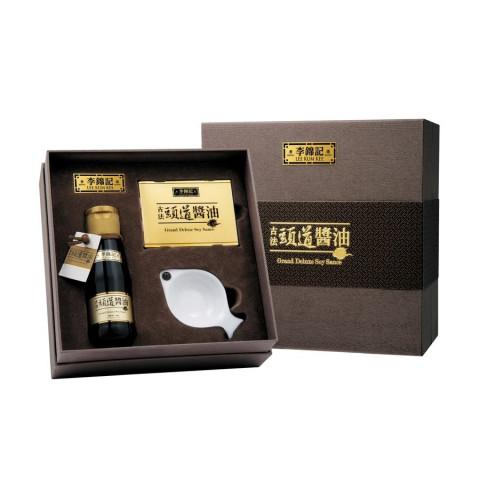 李錦記 古法頭道醬油 一口愉禮盒