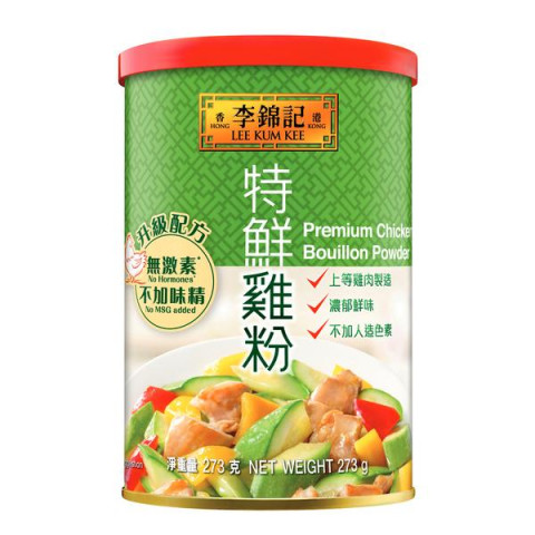 Lee Kum Kee Premium Chicken Bouillon Powder (No MSG) 300g