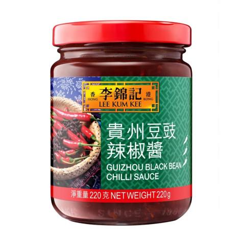 Lee Kum Kee Guizhou Black Bean Chili Sauce 220g