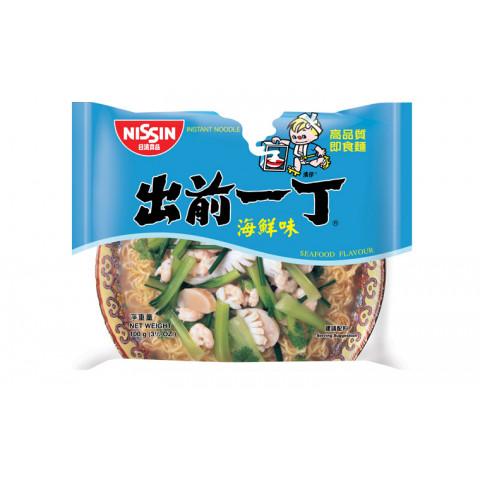 日清 即席麺 出前一丁 シーフード 100g × 9袋