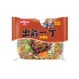 Nissin Demae Iccho Instant Noodle Satay Flavour 100g x 9 packs