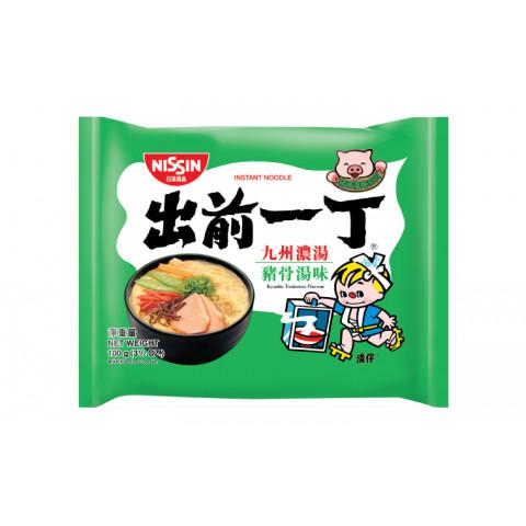 Nissin Demae Iccho Instant Noodle Kyushu Tonkotsu Flavour 100g x 9 packs