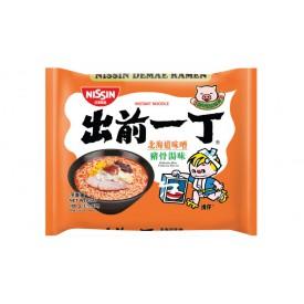 Nissin Demae Iccho Instant Noodle Hokkaido Miso Tonkotsu  Flavour 100g x 9 packs
