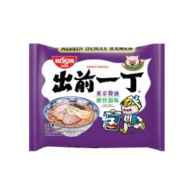 Nissin Demae Iccho Instant Noodle Tokyo Shoyu Tonkotsu Flavour 100g x 9 packs