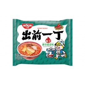 Nissin Demae Iccho Instant Noodle Super Hot Tonkotsu Flavour 100g x 9 packs