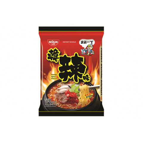Nissin Demae Iccho Instant Noodle Korean Spicy Flavour 100g x 9 packs