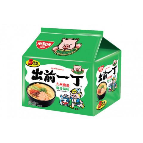 日清 即席麺 出前一丁 九州濃厚豚骨スープ 100g × 5袋