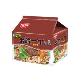 Nissin Demae Iccho Instant Noodle Five Spice Beef Flavour 100g x 5 packs