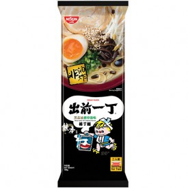 Nissin Demae Iccho Bar Noodle Black Garlic Oil Tonkotsu Flavour 186g