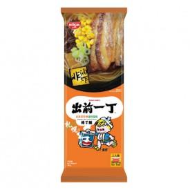 日清 棒丁麺 出前一丁 北海道みそ豚骨スープ 181g