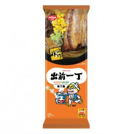 Nissin Demae Iccho Bar Noodle Hokkaido Miso Tonkotsu Flavour 181g