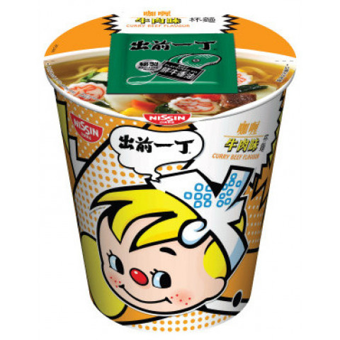 Nissin Demae Iccho Cup Curry Beef Flavour 75g