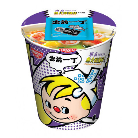 Nissin Demae Iccho Cup Tokyo Fish Broth Flavour 75g