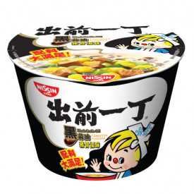 Nissin Demae Iccho Bowl Black Garlic Oil Tonkotsu Flavour 105g x 2 pieces