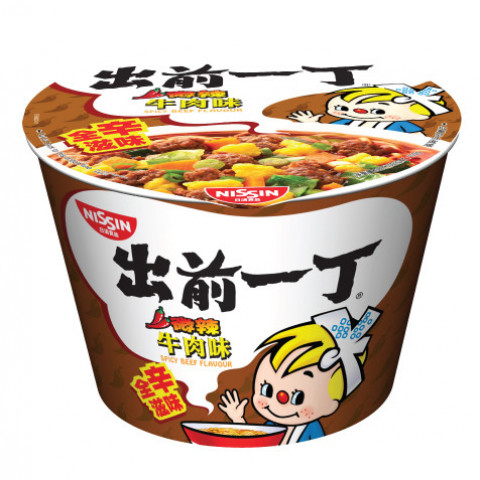 Nissin Demae Iccho Bowl Spicy Beef Flavour 103g x 2 pieces