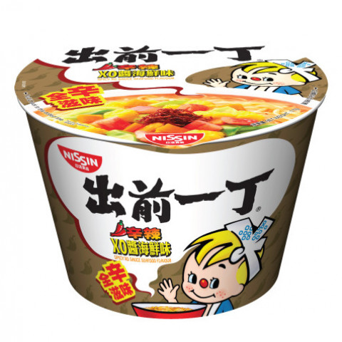 Nissin Demae Iccho Bowl Spicy XO Sauce Seafood Flavour 111g x 2 pieces