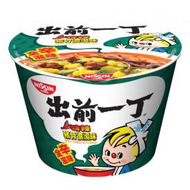 日清 出前一丁どんぶり 激辛豚骨スープ 111g × 2コ