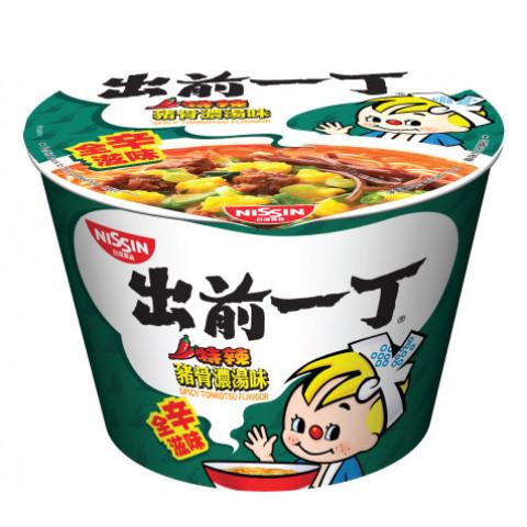 Nissin Demae Iccho Bowl Spicy Tonkotsu Flavour 111g x 2 pieces