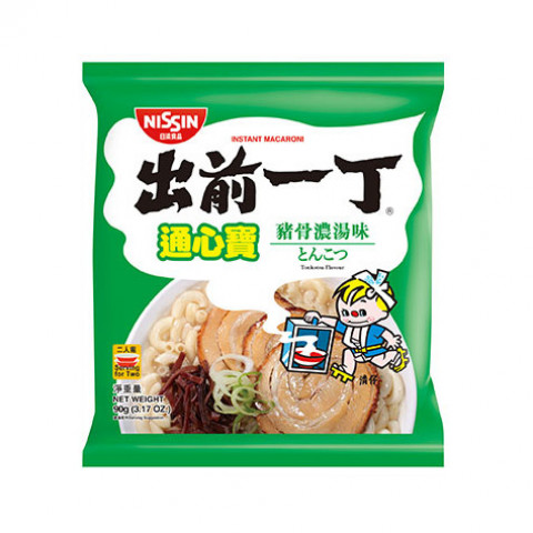 Nissin Demae Iccho Macaroni Tonkotsu Flavour 90g x 3 packs