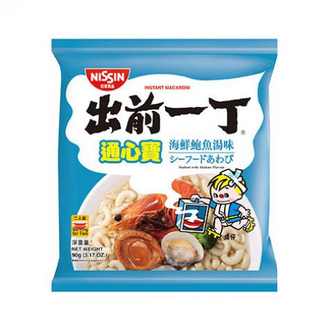 日清 出前一丁 通粉 海鮮鮑魚湯味 90克 x 3包
