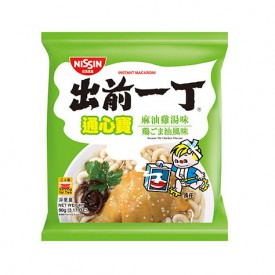 Nissin Demae Iccho Macaroni Sesame Oil Chicken Flavour 90g x 3 packs
