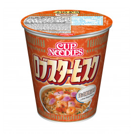 Nissin Cup Noodles Regular Cup Lobster Bisque Flavour 75g x 4 pieces