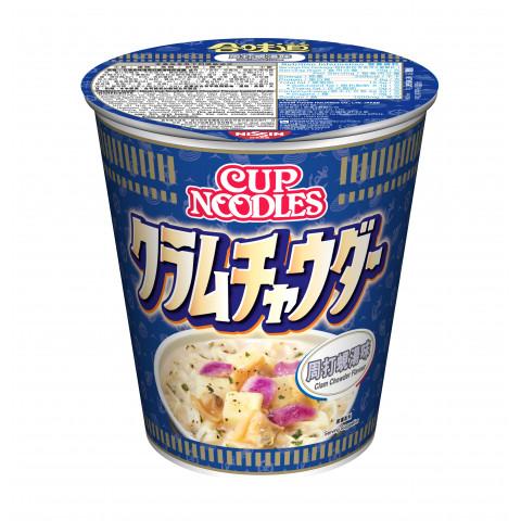 日清 合味道 杯麵 周打蜆湯味 75克
