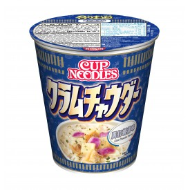 Nissin Cup Noodles Regular Cup Clam Chowder Flavour 75g x 4 pieces