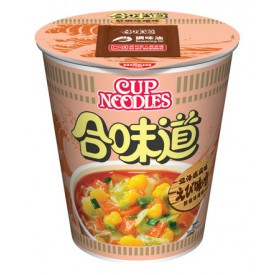 Nissin Cup Noodles Regular Cup Shrimp and Miso Flavour 75g