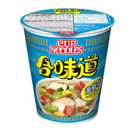 Nissin Cup Noodles Regular Cup Seafood Flavour 75g x 4 pieces