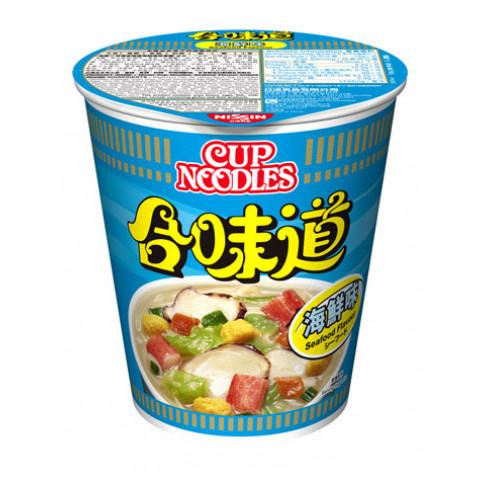 日清 合味道 杯麵 海鮮味 75克 x 4個