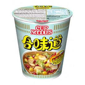 日清 合味道 杯麵 香辣海鮮味 75克 x 4個