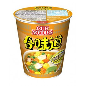 Nissin Cup Noodles Regular Cup Curry Seafood Flavour 75g x 4 pieces