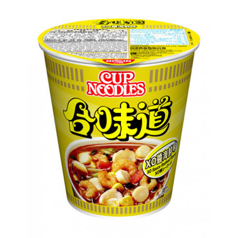 Nissin Cup Noodles Regular Cup XO Sauce Seafood Flavour 75g x 4 pieces