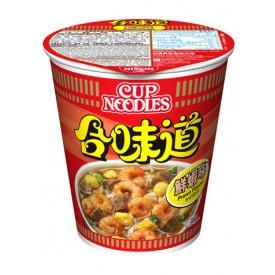 日清 合味道 杯麵 鮮蝦味 75克 x 4個