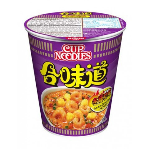 Nissin Cup Noodles Regular Cup Tom Yum Goong Flavour 75g