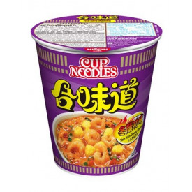 Nissin Cup Noodles Regular Cup Tom Yum Goong Flavour 75g x 4 pieces