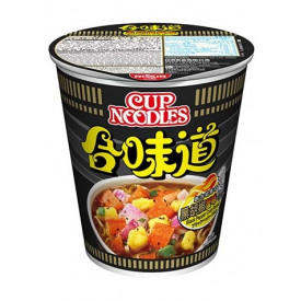 Nissin Cup Noodles Regular Cup Black Pepper Crab Flavour 75g